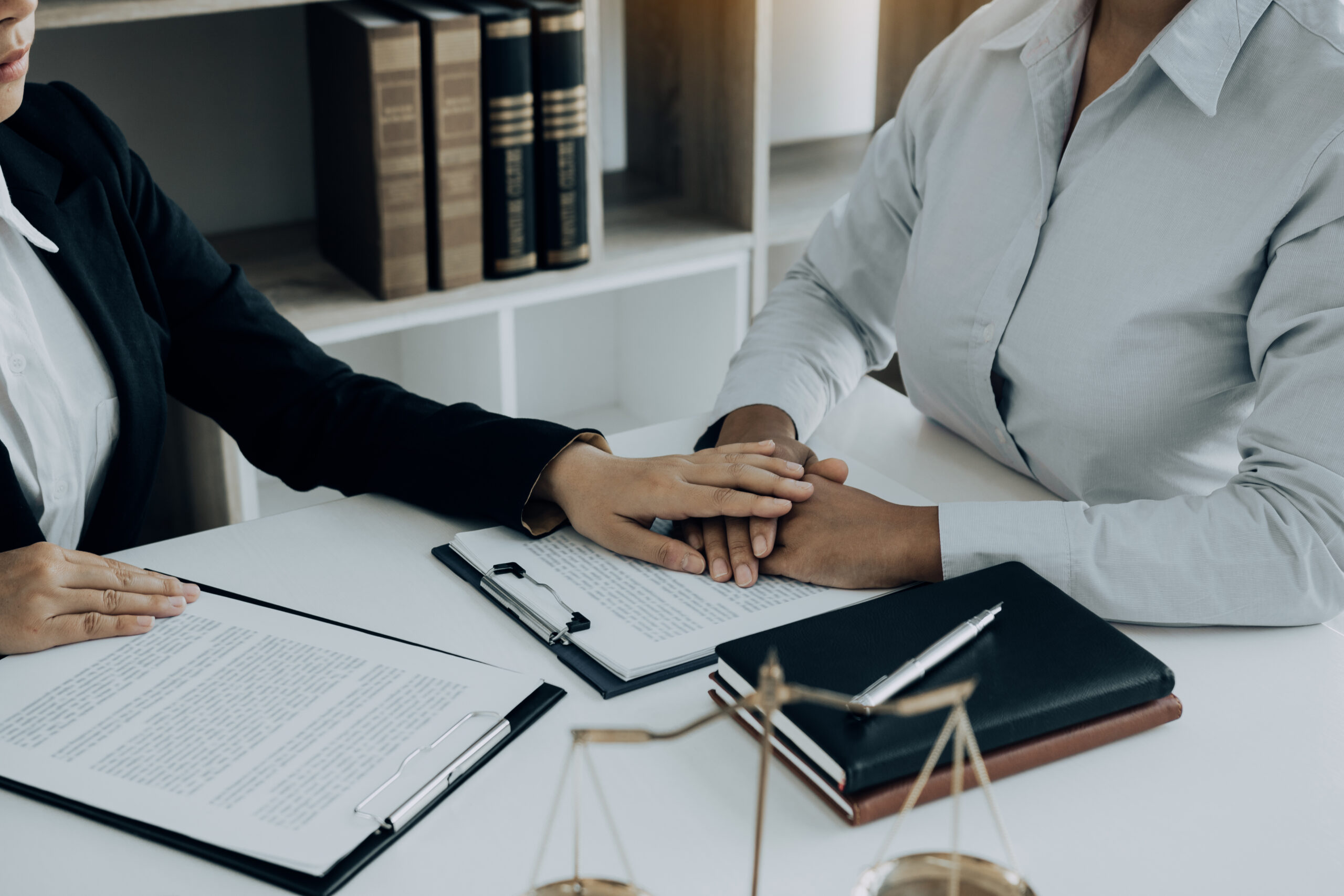 Lawyer is counseling the client in his counsel and will not escape the lawsuit.